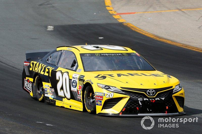 Erik Jones, Joe Gibbs Racing, Toyota Camry STANLEY