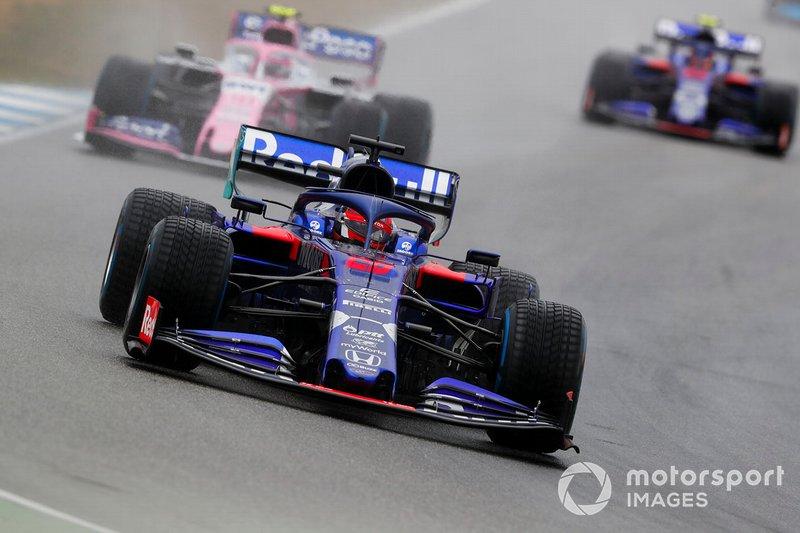 Daniil Kvyat, Toro Rosso STR14, Lance Stroll, Racing Point RP19