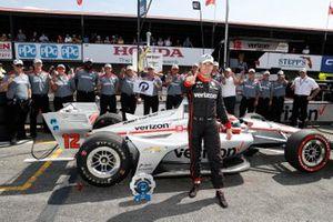 Will Power, Team Penske Chevrolet signe la pole position, avec son équipe