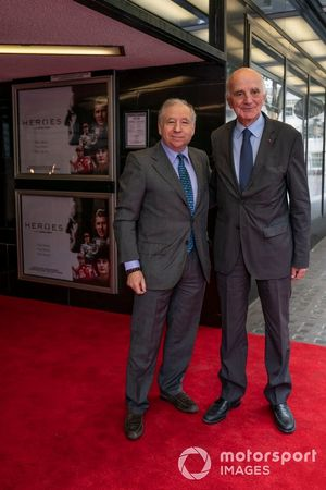 Jean Todt, FIA President with Gérard Saillant