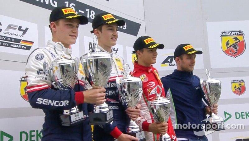 Gianluca Petecof, Prema F4 alemã, Nurburgring