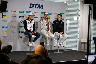 Persconferentie, Marco Wittmann, BMW Team RMG, René Rast, Audi Sport Team Rosberg, Paul Di Resta, R-Motorsport