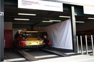 La Porsche di Stefano Monaco, AB Racing
