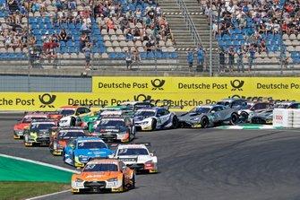 Start action, Jamie Green, Audi Sport Team Rosberg, Audi RS 5 DTM