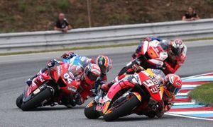 Marc Marquez, Repsol Honda Team, Andrea Dovizioso, Ducati Team, Alex Rins, Team Suzuki MotoGP, Jack Miller, Pramac Racing