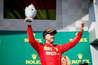 Sebastian Vettel, Ferrari, 3e positie