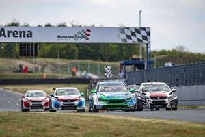 Natan Bihel, M Racing Hyundai i30 N TCR, Aurélien Comte, DG Sport Compétition Peugeot 308 TCR