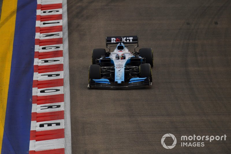George Russell, Williams Racing FW42 (não terminou)