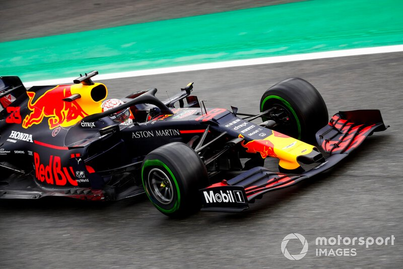 20 - Max Verstappen, Red Bull Racing RB15 - Sem tempo