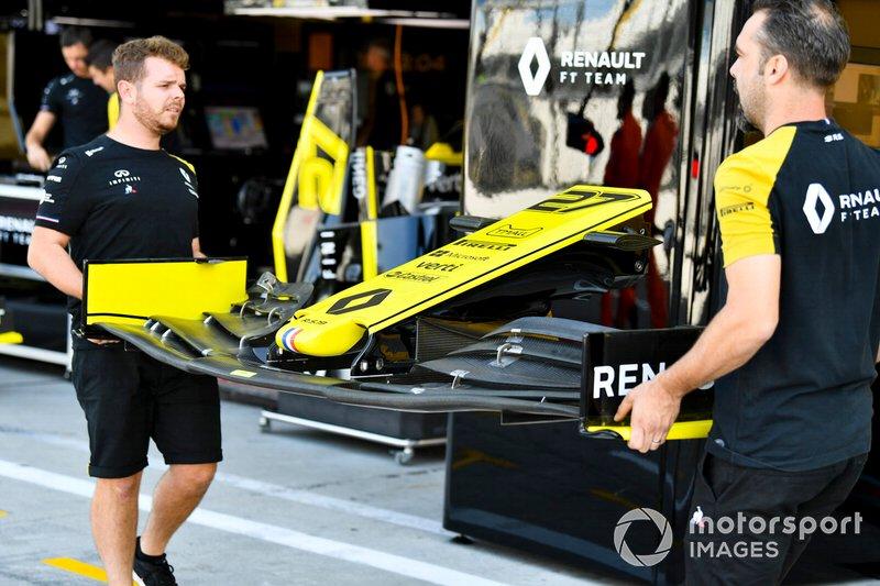 Asa dianteira da Renault