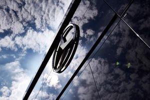 Mercedes AMG F1 motorhome in the paddock