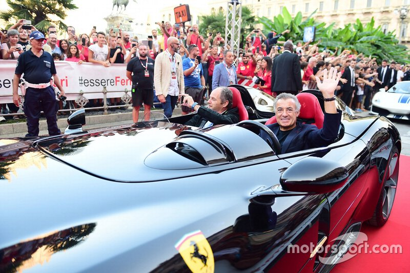 Jean Alesi y Gerhard Berger