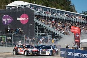 Niclas Grönholm, GRX-SET World RX Team Hyundai i20, Johan Kristoffersson, KYB EKS JC Audi S1