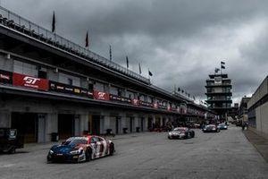 #32 Audi Sport Team WRT Audi R8 LMS GT3 GT3: Dries Vanthoor, Charles Weerts, Christopher Mies