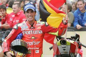 Le vainqueur Toni Elías, Fortuna Honda