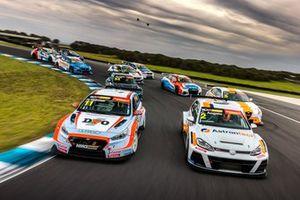 TCR Australia field