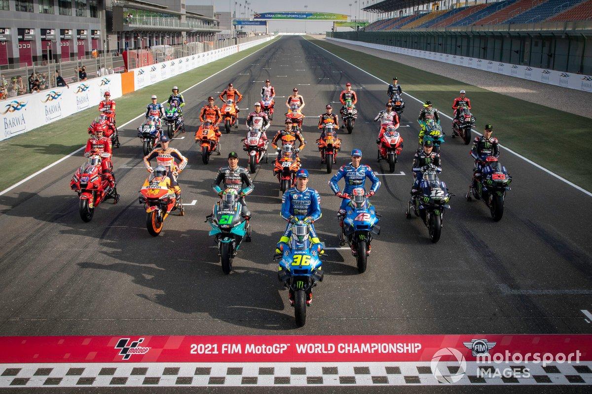 Alineación de pilotos MotoGP 2021