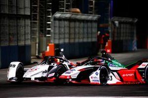 Rene Rast, Audi Sport ABT Schaeffler, Audi e-tron FE07, battles with Pascal Wehrlein, Tag Heuer Porsche, Porsche 99X Electric
