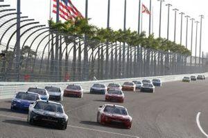 Joe Graf Jr, SS Green Light Racing, Chevrolet Camaro Bucked Up Energy, Landon Cassill, JD Motorsports, Chevrolet Camaro TeamJDMotorsports.com