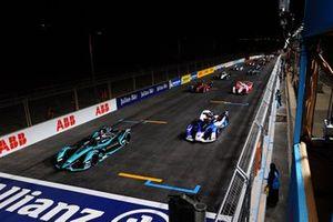Renn-Action beim E-Prix Riad 2021