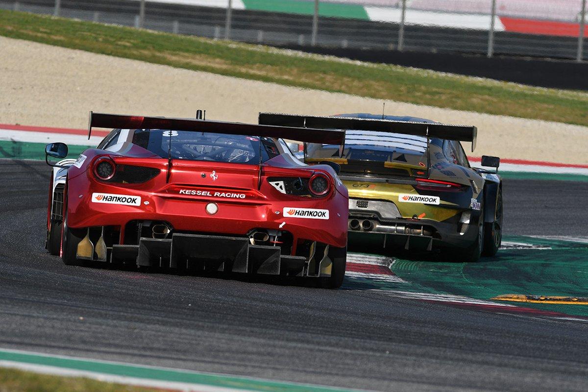 #8 Kessel Racing: Leonardo Maria Del Vecchio, Alessandro Cutrera, Marco Talarico, Marco Frezza, Ferrari 488 GT3 Evo