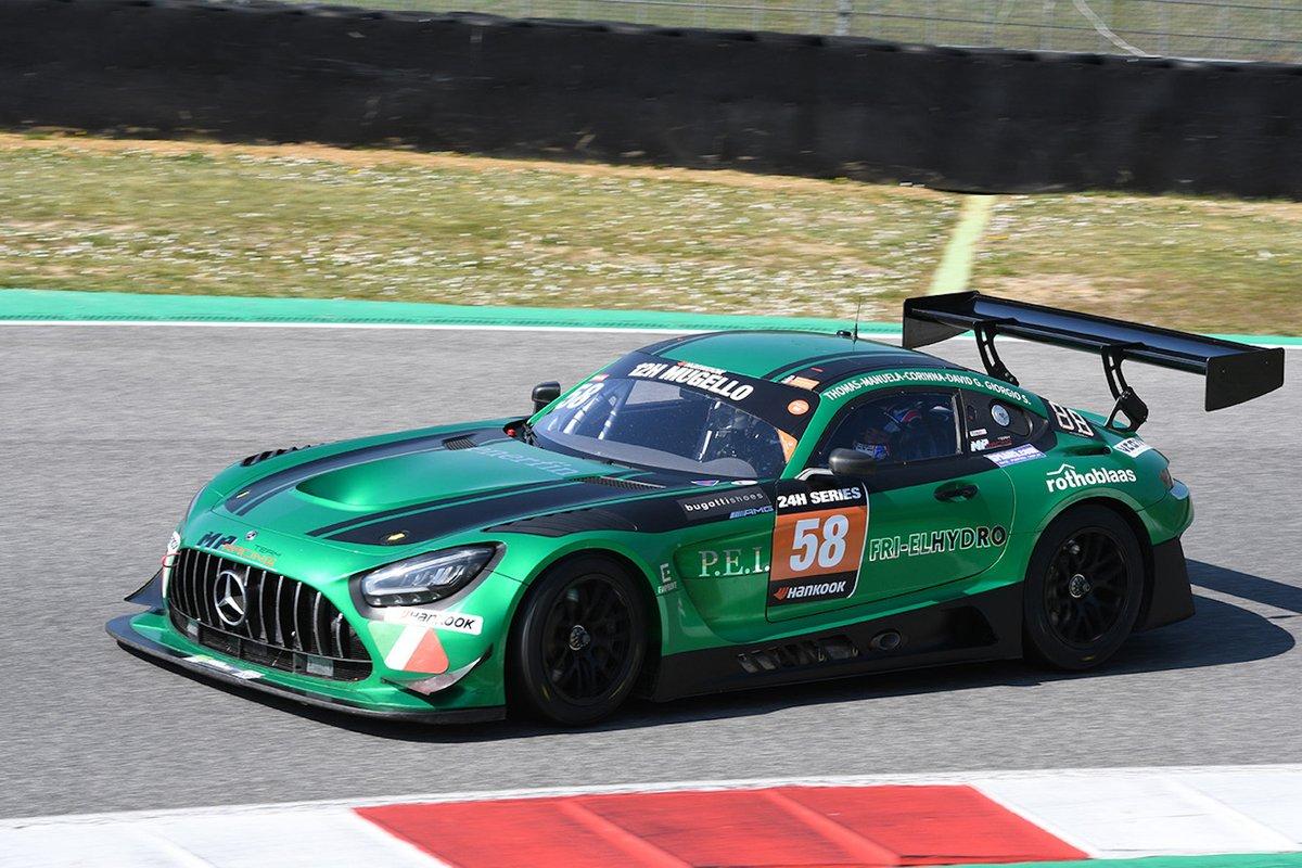 #58 MP Racing: Thomas Gostner, David Gostner, Corinna Gostner, Manuela Gostner, Giorgio Sernagiotto, Mercedes-AMG GT3
