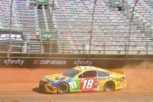 Kyle Busch, Joe Gibbs Racing, Toyota Camry M&M's Messages