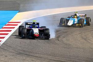 Guilherme Samaia, Charouz Racing System and Lirim Zendeli, MP Motorsport