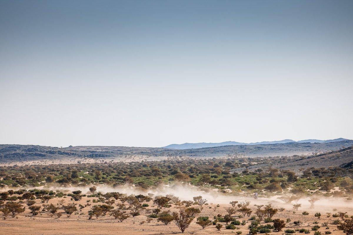 Ambiente de la etapa 1 del Dakar 2021