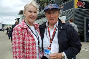Sir Jackie Stewart, with his wife Lady Helen Stewart