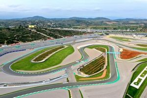 Valencia Circuit Ricardo Tormo, Spain, aerial