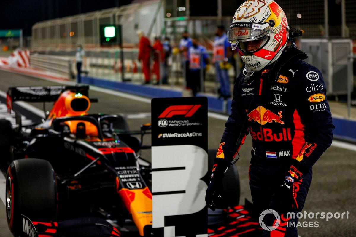 Tercer puesto Max Verstappen, Red Bull Racing