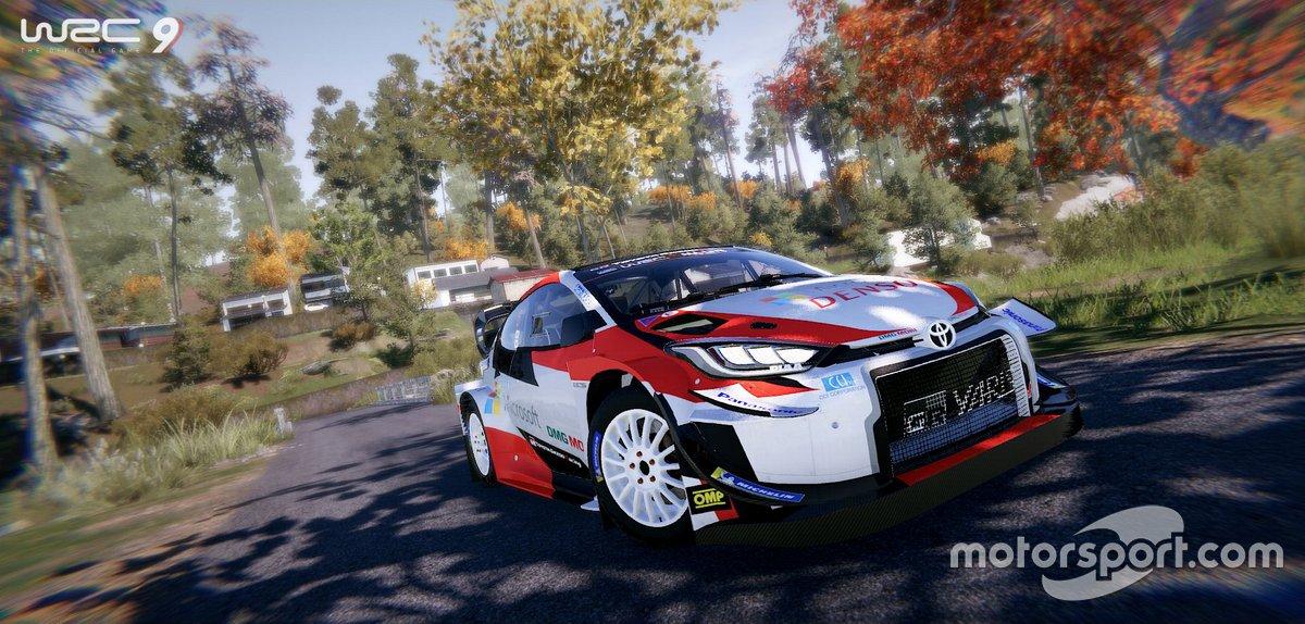 Toyota GR Yaris Concept en WRC 9