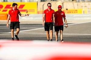 Mick Schumacher, Prema Racing walks the track
