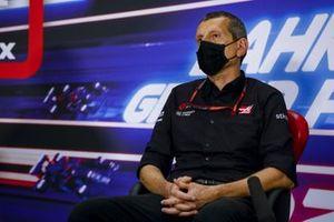 Guenther Steiner, Team Principal, Haas F1 en conférence de presse