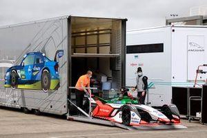 La monoplace de Lucas Di Grassi, Audi Sport ABT Schaeffler Formula E Team, Audi e-tron FE07