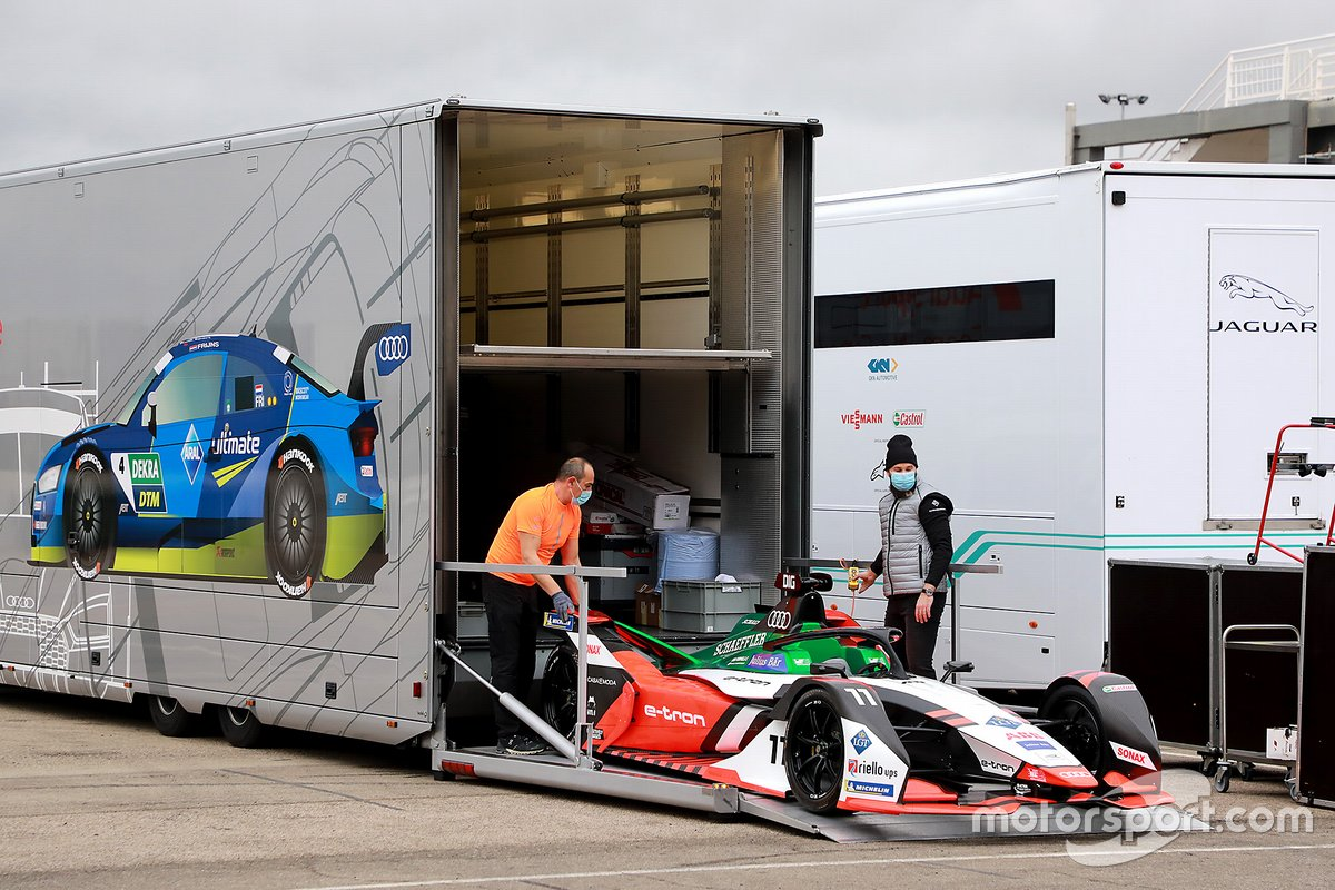 Car of Lucas Di Grassi, Audi Sport ABT Schaeffler Formula E Team, Audi e-tron FE07