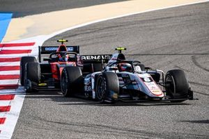 Christian Lundgaard, ART Grand Prix and Felipe Drugovich, MP Motorsport