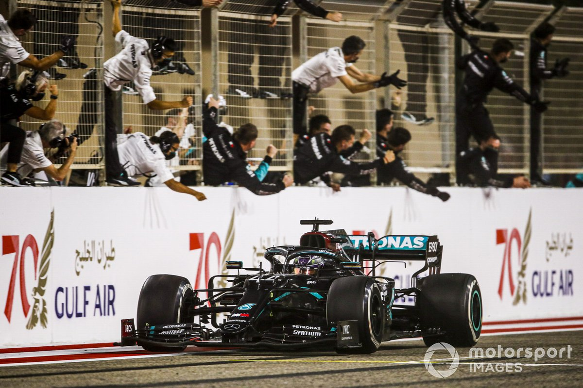 2020: Lewis Hamilton, Mercedes F1 W11