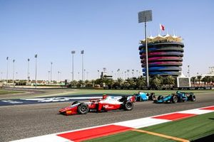 Oscar Piastri, Prema Racing and Marcus Armstrong, Dams