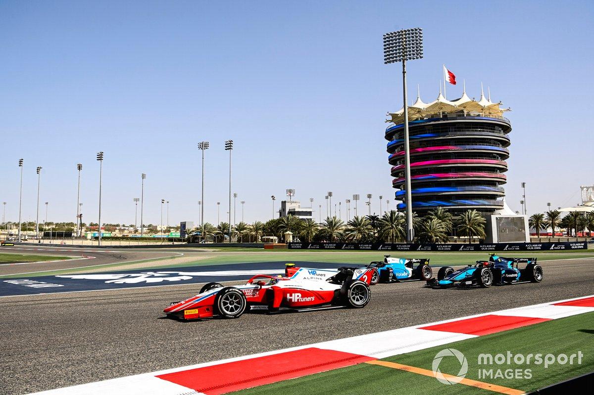 Oscar Piastri, Prema Racing y Marcus Armstrong, Dams