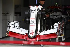 Alfa Romeo Racing bodywork