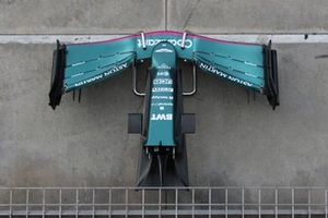 Aston Martin MR21 front wing