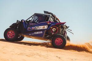 X-raid Yamaha Racing Rally Supported Team: Annett Fischer, Camelia Liparoti