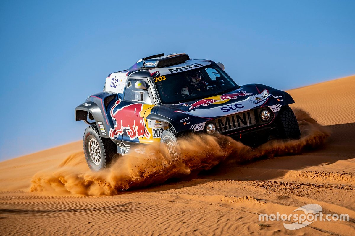 Mini John Cooper Works Buggy: Carloz Sainz, Lucas Cruz
