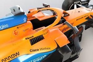 McLaren MCL35M cockpit detail