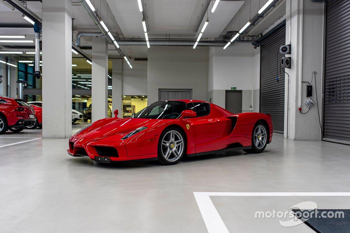 El Enzo Ferrari 2004 de Sebastian Vettel