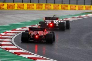Pierre Gasly, AlphaTauri AT01, Charles Leclerc, Ferrari SF1000