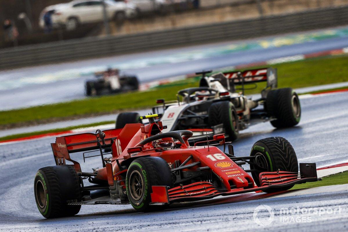 Charles Leclerc, Ferrari SF1000, Romain Grosjean, Haas VF-20