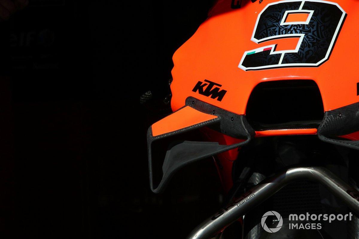 La moto de Danilo Petrucci, KTM Tech3
